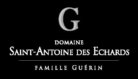 Logo Domaine Saint Antoine des Echards - Famille Guérin